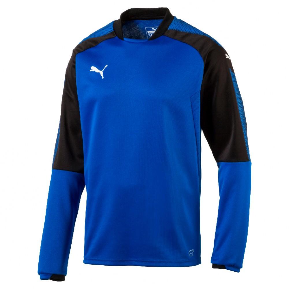 puma ascension sweater fleece blau yam yam world. Black Bedroom Furniture Sets. Home Design Ideas