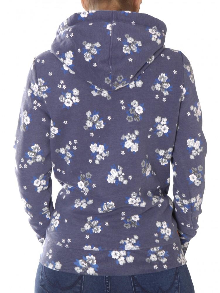 cde867dde909 superdry PREMIUM GOODS AOP ENTRY HOOD Sweater   Fleece blau   YAM ...