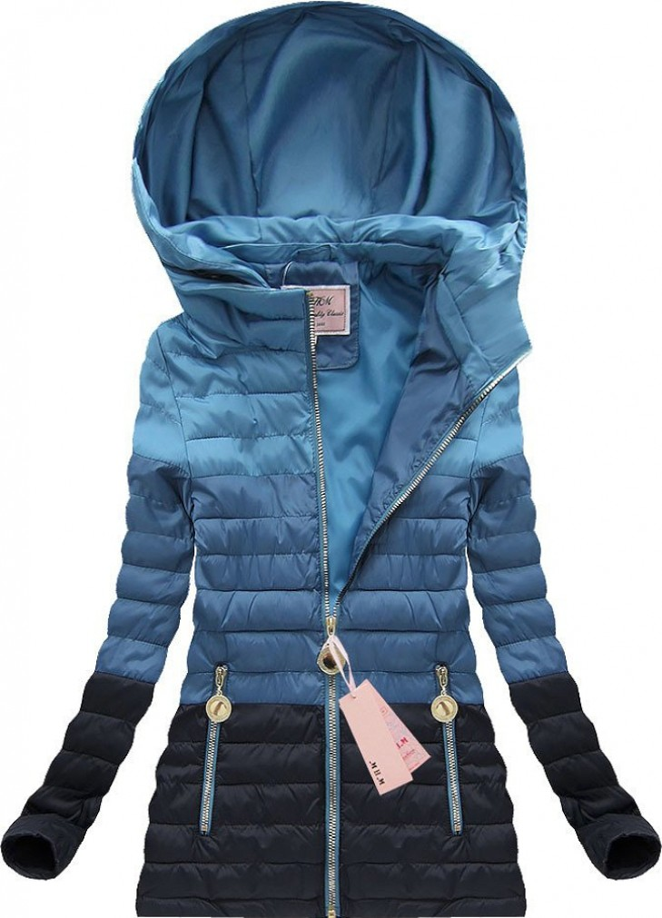 yam yam sports steppjacke mit kapuze blau (w6 jacken blau jackson 32187 jacken 32 #9