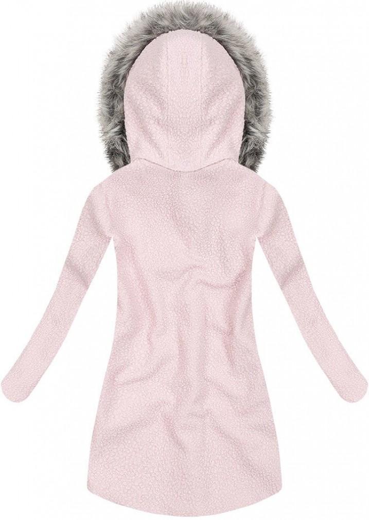 Yam Yam Fashion KURZ WINTERMANTEL MIT KAPUZE P Jacken rosa, EUR 61 ... 8adcdb1076