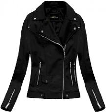 a2fec6d6da2761 Yam Yam Fashion BIKERJACKE SCHWARZ 5327 Jacken schwarz