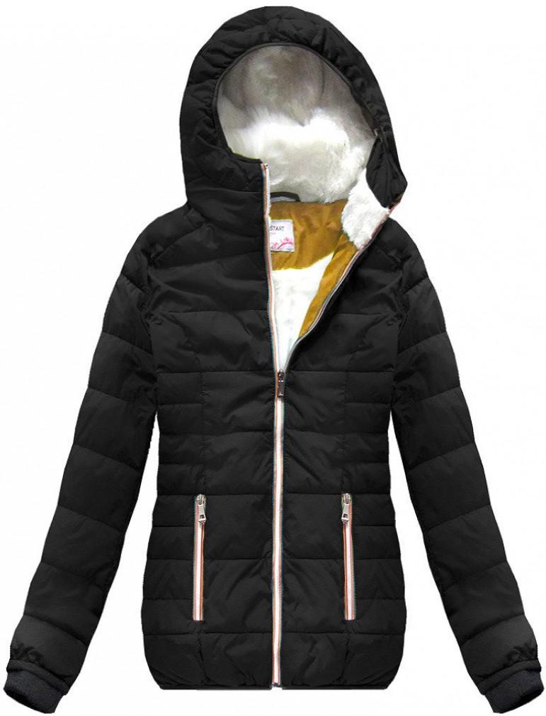 aa0302b3549a72 Yam Yam Fashion GESTEPPTE KURZJACKE MARINEBLAU Jacken schwarz, EUR ...
